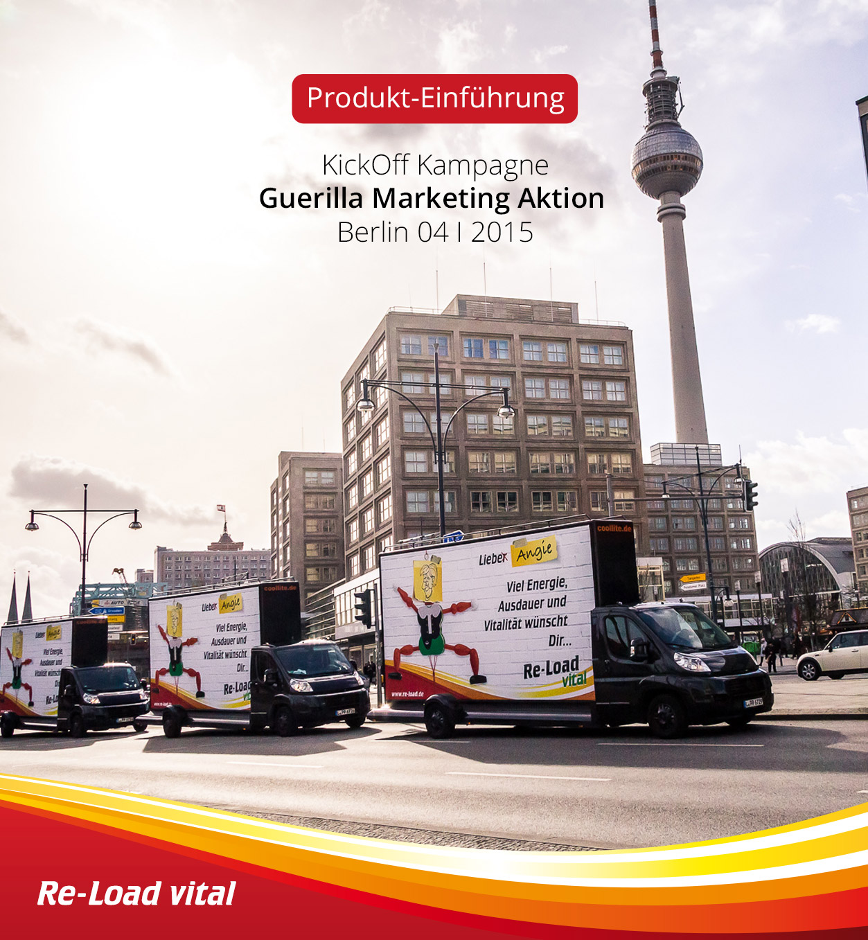 Guerilla Marketing Aktion Berlin