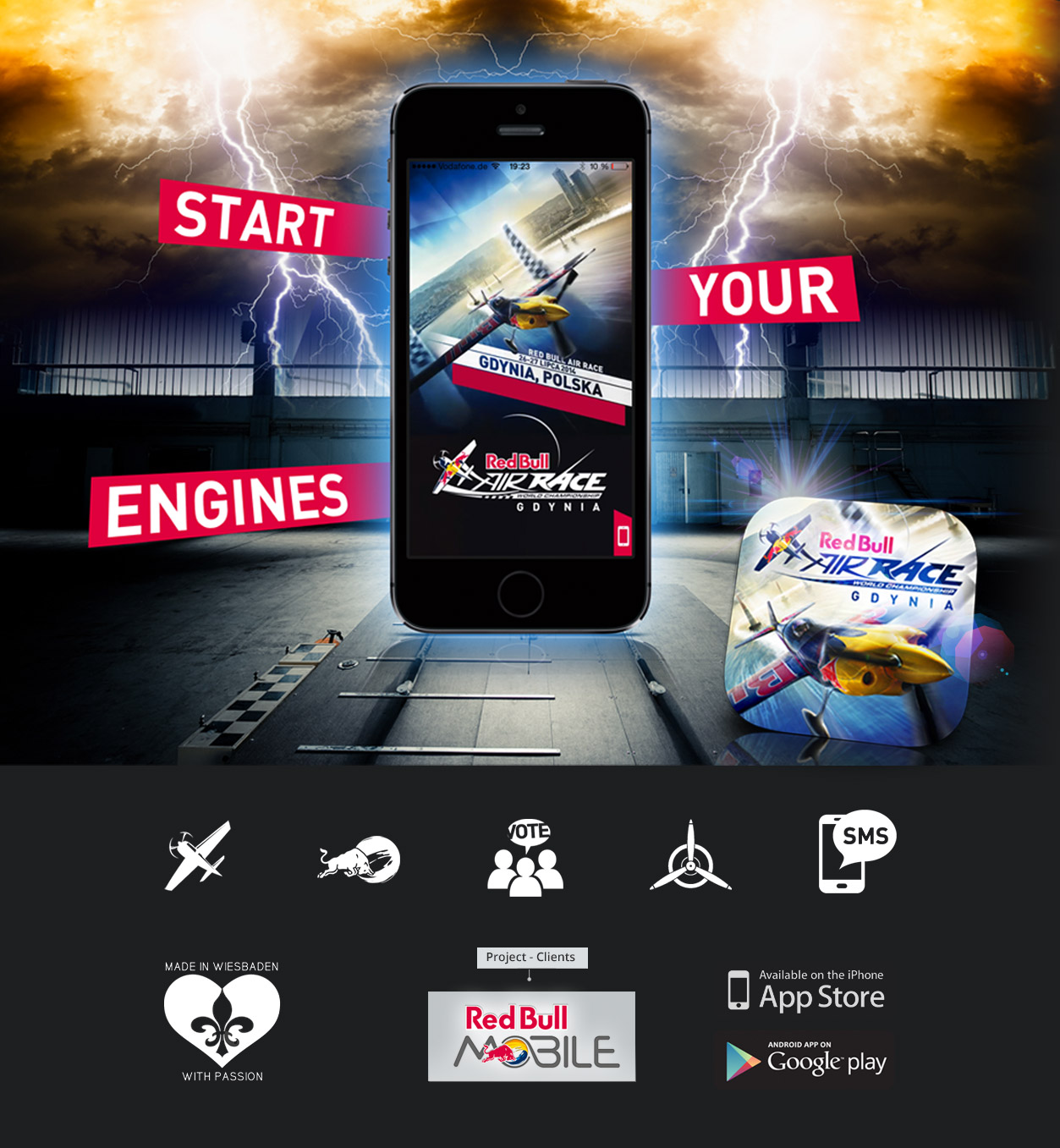 Red Bull Air Race App