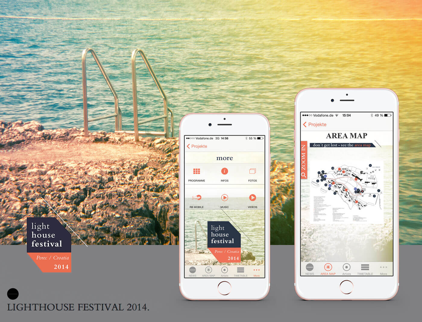 Lighthouse Festival 2014, Croatia/Poreč APP
